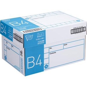 「カウコレ」プレミアム スタンダード高白色タイプ B4 500枚×5冊1箱|kaumall
