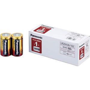 パナソニック 乾電池 アルカリ 単1 10本入|kaumall
