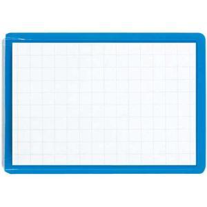コクヨ ソフト名札ピン・クリップ両用型50×75mm青
