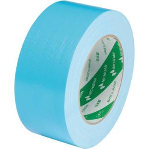 ニチバン 布粘着カラーテープ 50mm×25m ライトブルー|kaumall|02