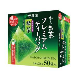 伊藤園 プレミアムティーバッグ 抹茶入り緑茶 50袋|kaumall