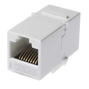 ● カテゴリー6 (CAT6) に対応した、LANケーブル延長コネクタです。 ● ギガビット・ネット...