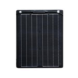 薄型 軽量 セミフレキシブル 20W単結晶ソーラーパネル|kausmedia|02