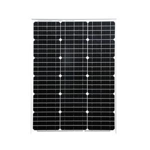 太陽光 パネル ソーラーパネル 太陽 発電  単結晶 50W|kausmedia|02
