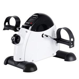 OneTwoFit フィットネスバイク エアロビクスバイク 静音 ミニスピンバイク 座ってペダル運動 ミニバイク腕・脚用トレーニングマシン|kavutens