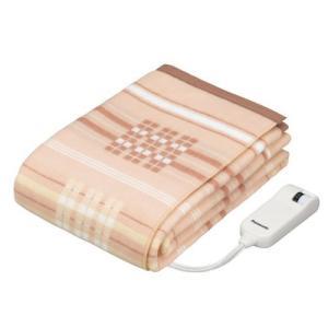 パナソニック 電気かけしき毛布 丸洗い可 200×140cm DB-R40L-D|kavutens