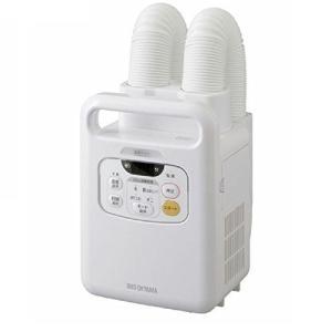 アイリスオーヤマ 布団乾燥機 カラリエ 温風機能付 マット不要 ツインノズル 布団2組・靴2組対応 ホワイト FK-W1|kavutens