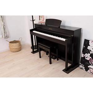 3Points Mat 電子ピアノ 専用マット 3PM-1 3点敷き新タイプ 防音/防振/防傷 (ダークブラウン/DB)|kavutens