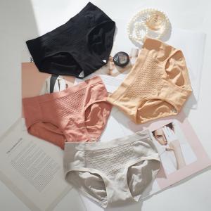 レディースショーツ スタンダード 単品 子宮温活 パンツ パンティー ノーマル インナー 女性下着 立体 3D 保温 通気性 ランジェリー シンプル|kawa-e-mon