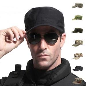 SWAT 特殊部隊 ミリタリーキャップ ワークキャップ サバゲー サバイバル 装備 帽子 戦闘服 迷彩柄 カモフラージュ メンズ レディース 男女兼用|kawa-e-mon