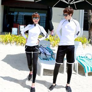 水着 スイムウェア セットアップ セパレート ラッシュガード ショートパンツ ハーフパンツ レギンスパンツ ビキニ ブラトップ レディース 女性用 メ|kawa-e-mon