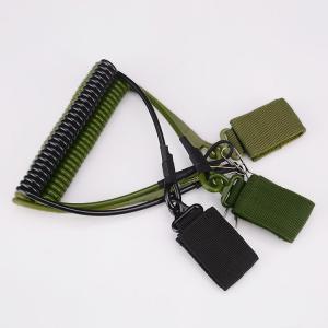 ストラップ ランヤード ピストルランヤード コード サバゲー サバイバルゲーム ミリタリー サバイバル ハンドガンスリング サバゲー装備品 装備 装備|kawa-e-mon