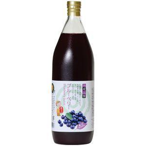 ブルーベリージュース果汁40% 1000ml|kawaba