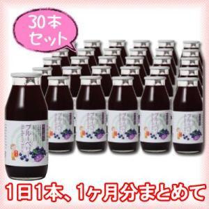 【たっぷり30本】 ブルーベリージュース果汁40% 180ml|kawaba