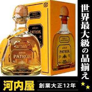 パトロン アネホ テキーラ 750ml 40度 (Patron Anejo Tequila 100% de Agave ) パトロン アニェホ kawahc