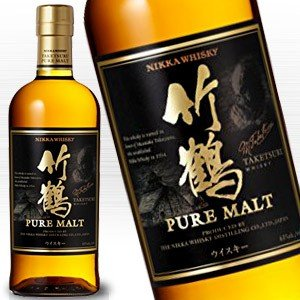 ニッカ 竹鶴 ピュアモルト 700ml 43度 箱なし※おひとり様6ヶ月に1本 竹鶴のみでのご購入は不可※国産ウイスキー及びマッカランの同梱購入はできません