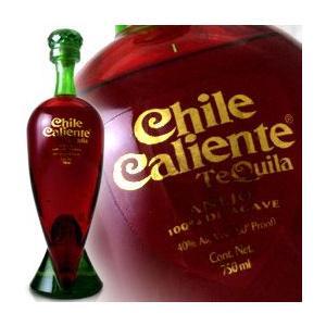 チリ カリエンテ アネホ テキーラ レッド ボトル 750ml 40度 正規代理店輸入品