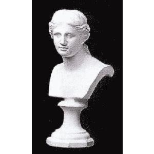 石膏像 ホルベイン ミニ石膏像 ミロ島ヴィーナス胸像 高さ19cm デッサン kawachigazai