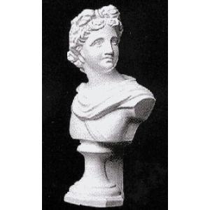 石膏像 ホルベイン ミニ石膏像 アポロ胸像 高さ21cm デッサン|kawachigazai