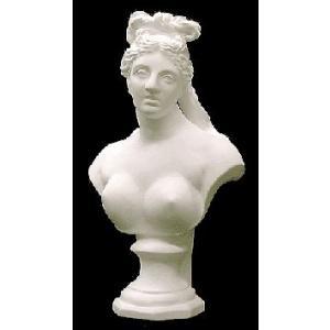 石膏像 ホルベイン ミニ石膏像 カッパァヴィーナス胸像 高さ21.3cm デッサン|kawachigazai