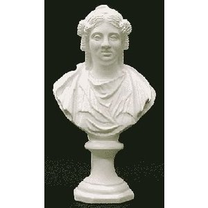 石膏像 ホルベイン ミニ石膏像 バチアント胸像 高さ20.7cm デッサン|kawachigazai