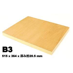 木製 ベニヤパネル B3 水張り ファブリックアート|kawachigazai