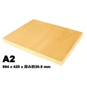 木製 ベニヤパネル A2 水張り ファブリックアート|kawachigazai
