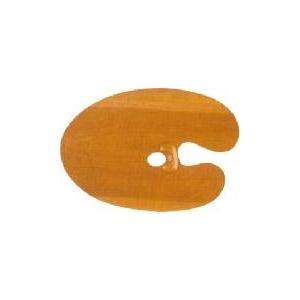 ホルベイン 油彩画用パレット オーバル型2号 朱利桜製 楕円形|kawachigazai