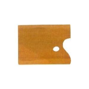 ホルベイン 油彩画用パレットオブロング型(角)サムホール 朱利桜製 角形|kawachigazai