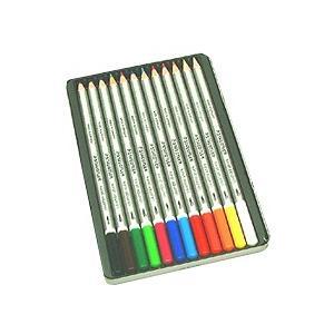 ステッドラー カラト125 水彩色鉛筆 12色|kawachigazai