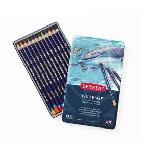 ダーウェント インクテンスペンシル 水性色鉛筆 12色 kawachigazai
