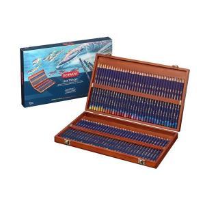 ダーウェント インクテンスペンシル 水性色鉛筆 72色 ウッドボックス kawachigazai