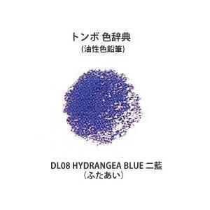色鉛筆 トンボ 色辞典 単色 VP08 HORIZON BLUE 瓶覗 (かめのぞき)|kawachigazai