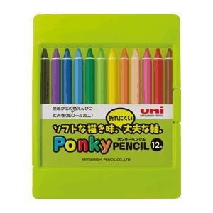 Ponky PENCIL ポンキーペンシル12色セット|kawachigazai