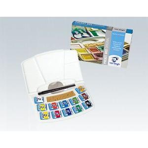ヴァンゴッホ 固形水彩絵具 12色セット (ポケットボックス) T.20M8612 オランダ製|kawachigazai