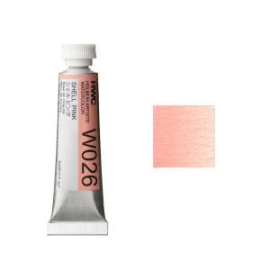 ホルベイン HWC 透明水彩絵具 2号(5ml) A 赤系 シェルピンク|kawachigazai