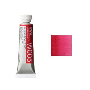 ホルベイン HWC 透明水彩絵具 2号(5ml) C 赤系 キナクリドンレッド|kawachigazai