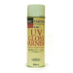 ホルベイン 水彩メディウム UVグロス バーニッシュ コート剤|kawachigazai