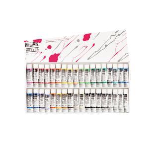 リキテックス アクリル絵具 レギュラー6号(20ml) 伝統色36色Bセット|kawachigazai