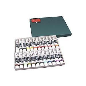 アクリルガッシュ絵具 ターナーアクリルガッシュ ジャパネスクカラー20ml 24色セットA kawachigazai
