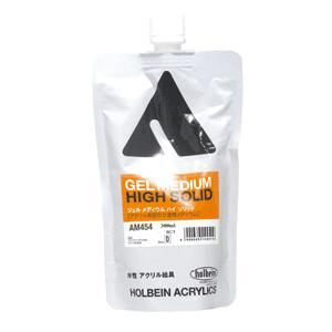 ホルベインアクリルメディウム ジェルメディウム ハイソリッド 300ml(スタンドパック) kawachigazai