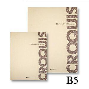 クロッキー帳 オリオン クロッキー CH B5|kawachigazai