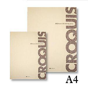 クロッキー帳 オリオン クロッキー CH A4|kawachigazai