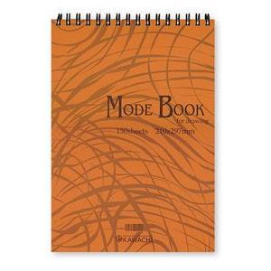 スケッチブック カワチ オリジナルブック MODE BOOK スケッチ デザイン画|kawachigazai