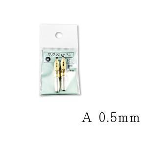 ペン先 タチカワ(Tachikawa)カリグラフィーペンA 0.5mm 2本入|kawachigazai
