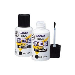 GANGY(ガンジー) ミスノン修正液 No.400|kawachigazai