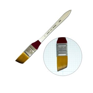 ホルベイン リセーブル画筆(油彩・アクリル用) 600W No.10 平刷毛 幅広|kawachigazai