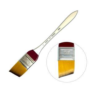 ホルベイン リセーブル画筆(油彩・アクリル用) 600A No.15 平刷毛 幅広 穂先が斜め|kawachigazai