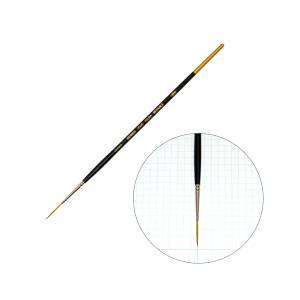 ホルベイン 水彩画筆シリーズ 350S スクリプトNO.000 丸筆 穂先が長い まとまりが良い|kawachigazai
