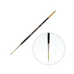 ホルベイン 水彩画筆シリーズ 350S スクリプトNO.0 丸筆 穂先が長い まとまりが良い|kawachigazai